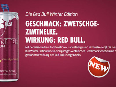 Red Bull - Neue Winteredition!