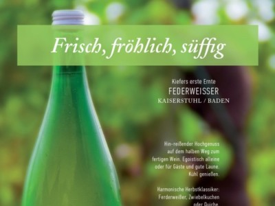 Neuer Federweisser aus Baden.