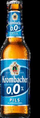 Krombacher Pils alkoholfrei 0,0%