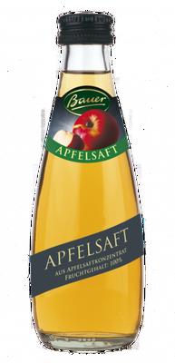 Bauer Apfelsaft klar 100%