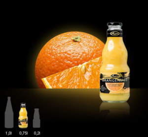 Lausitzer Orangensaft 100%