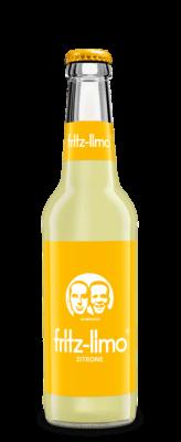 Fritz-Limo Zitronenlimonade-naturtrüb