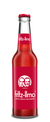 Fritz-Limo Apfel-Kirsch-Holunder-Limonade