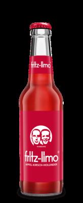 Fritz-Limo Apfel-Kirsch-Holunder-Limonade