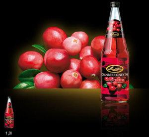 Lausitzer Cranberry-Nektar