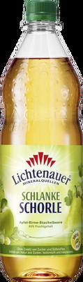 Lichtenauer Schlanke Schorle Apfel-Birne-Stachelbeere