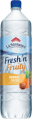 Lichtenauer Fresh`n Fruity Ananas-Cocos