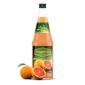 Linke Grapefruitsaft