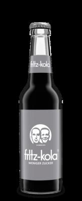 Fritz Kola wenig Zucker