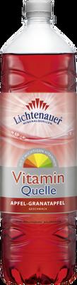 Lichtenauer VitaminQuelle Apfel-Granatapfel