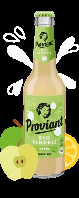 Proviant Apfelschorle-naturtrüb