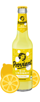 Proviant Zitronenlimonade-naturtrüb