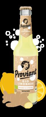 Proviant Ingwer-Zitrone-naturtrüb