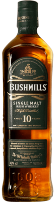 Bushmills Irish Single Malt Whiskey 10 Jahre