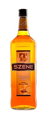 Szene Rum braun