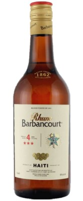 Barbancourt Rhum 4 Years Old, 3 Stars
