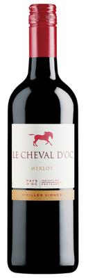 Le Cheval d'Oc Merlot Liter