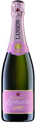 Champagne Lanson Rosé Label Brut