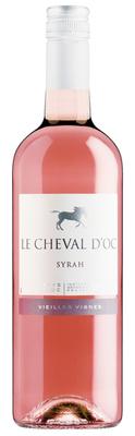 Le Cheval d'Oc Syrah Rosé Liter