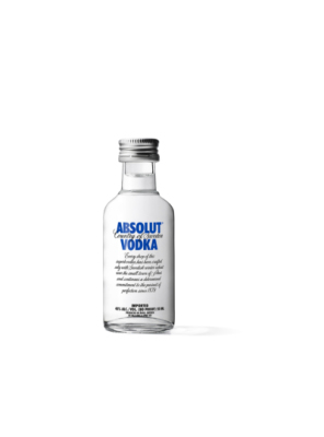 Absolut Blue Vodka Miniatur