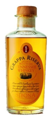 Sibona Grappa Riserva Tennesee Whiskey Wood Finished