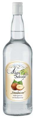 Alpenschnaps Steinbeisser Haselnuss