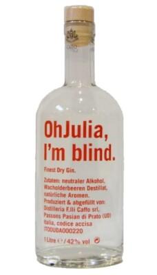Caffo Gin Oh Julia I´m blind