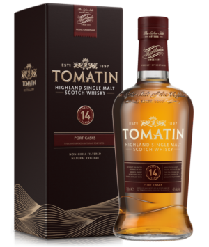 Tomatin 14 Jahre - Port Wood Finish