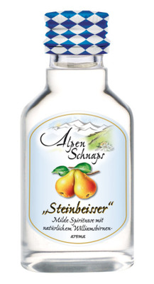Alpenschnaps Steinbeisser Williams
