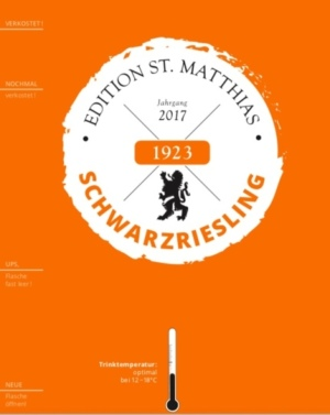 Edition St.Matthias Schwarzriesling QbA