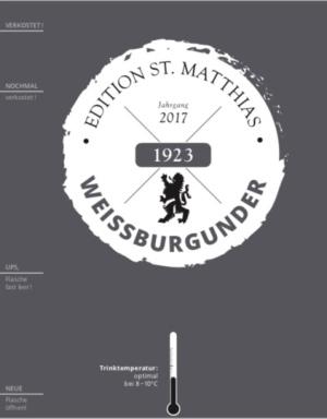 Edition St.Matthias Weißburgunder QbA