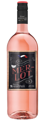 Grand Restaurant CHIC Merlot Rosè Vin de Pays DOC