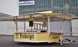 Ausschankwagen Freiberger