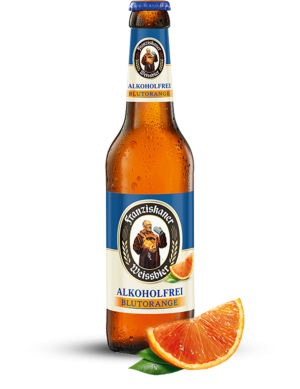 Franziskaner Blutorange alkoholfrei