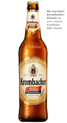 Krombacher Weizen alkoholfrei 0,0 %