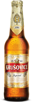 Krusovice Imperial Royal Czech Beer