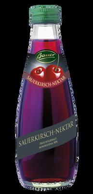 Bauer Sauerkirschnektar klar