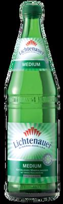 Lichtenauer Mineralwasser Medium -Grünglas
