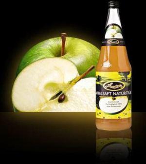 Lausitzer Apfelsaft naturtrüb