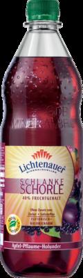 Lichtenauer Schlanke Schorle Apfel-Pflaume-Holunder