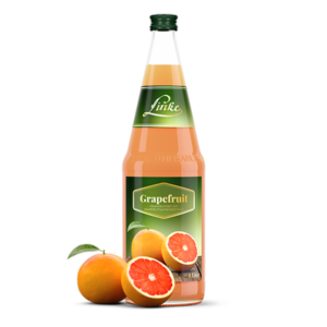 Linke Grapefruitsaft