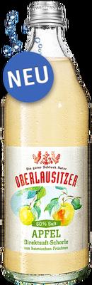 Oberlausitzer Apfel-Direktsaftschorle 60%