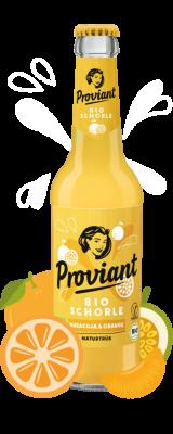 Proviant Schorle Maracuja & Orange - naturtrüb