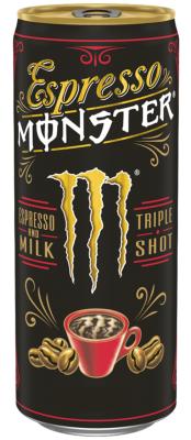Monster Espresso - Espresso and Milk