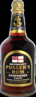 Pusser's Rum Gunpowder Proof (Black Label)