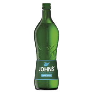 John´s Lemon Sqash Natural Cordial