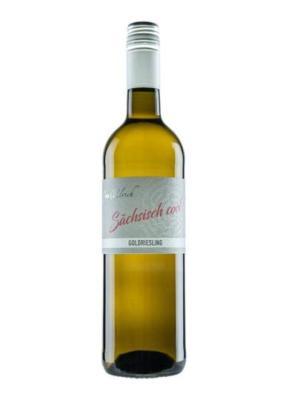 Seußlitzer Heinrichsburg Goldriesling Qualitätswein
