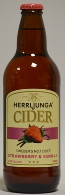 Herrljunga Cider Strawberry & Vanilla