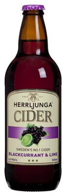 Herrljunga Cider Blackcurrant & Lime