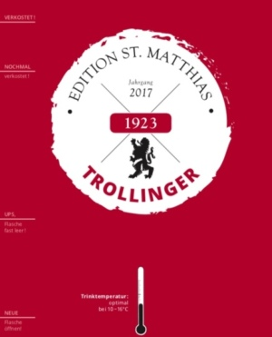 Edition St.Matthias Trollinger QbA